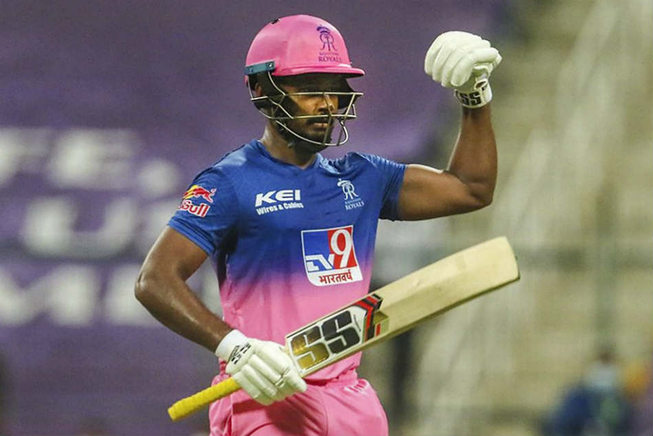 Sanju Samson reveals reason behind his strange celebration after scoring fifty for Rajasthan Royals