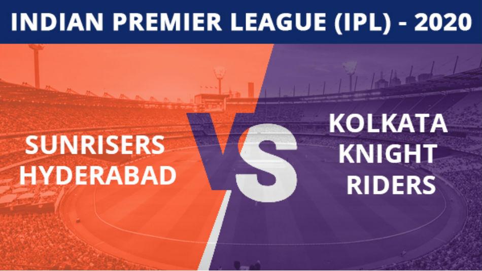 IPL 2020: SRH vs KKR, Match 35 Updates: Natarajan removes Tripathi after Knight Riders get off to regular begin