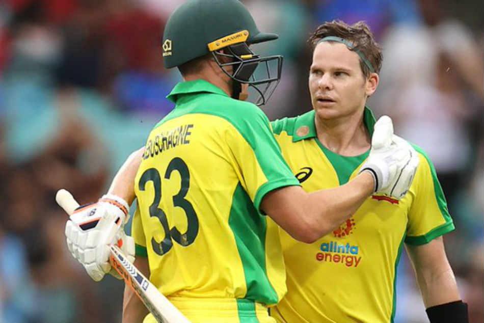 India Vs Australia 2nd Odi Steve Smith Hundred Studs Aussies Series Victory
