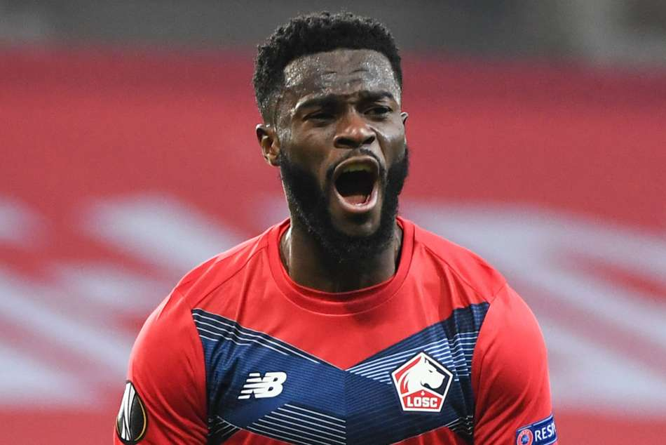 Jonathan Bamba Gives Lille 1 1 Europa League Draw With Milan