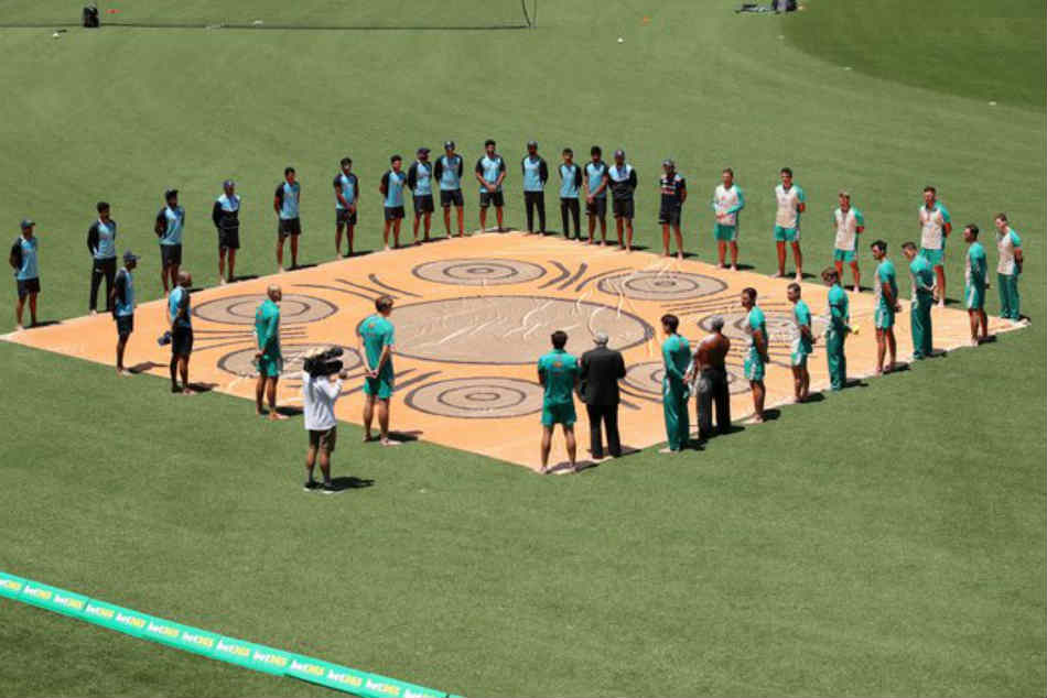 India vs Australia | Players in Barefoot ceremony, join anti-racism campaign ahead of first ODI