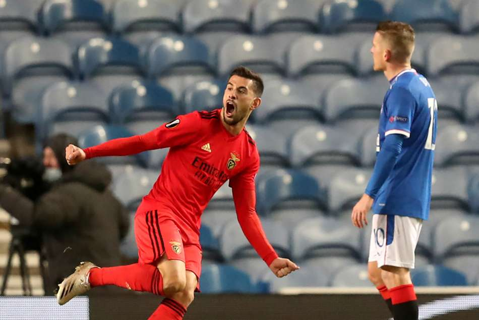 Rangers Benfica Europa League Report Scott Arfield Kemar Roofe Strikes Not Enough