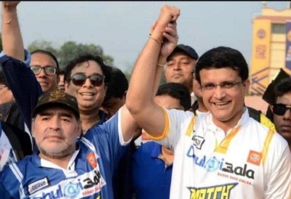 Sourav Ganguly condoles death of Diego Maradona, tweets