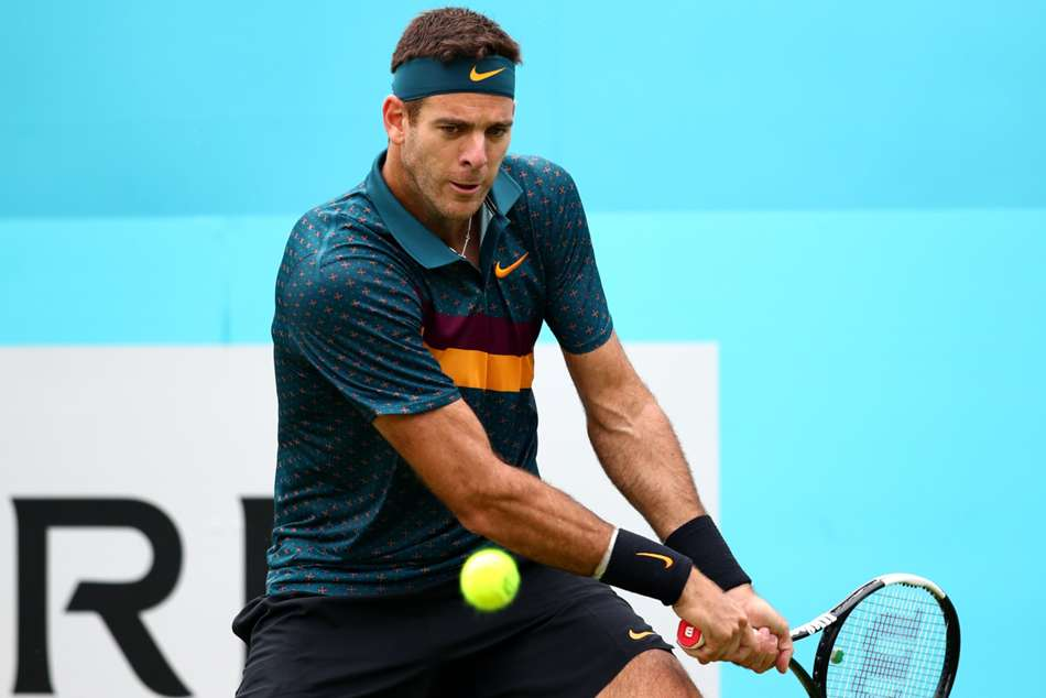 Del Potro admits to struggles in return bid, eyes Olympics