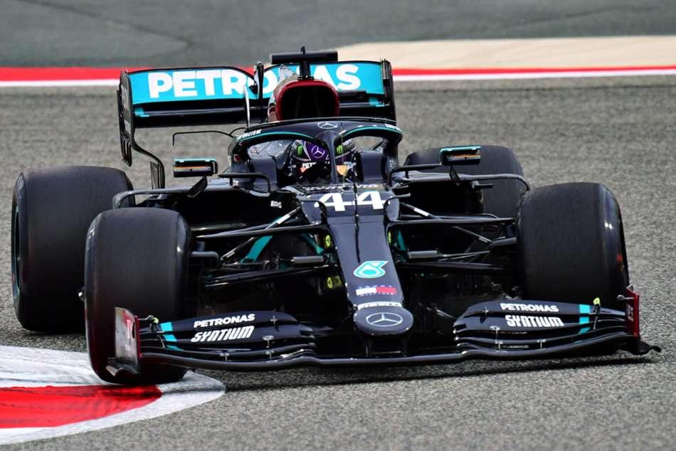 F1 2020 Seven Time Champ Lewis Hamilton Top Again Bahrain Practice