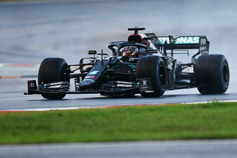 It Was An Improvement Hamilton Defends Qualifying Showing On Terrible Track