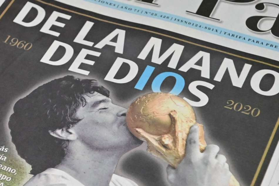 Diego Maradona Dies Newspaper Front Pages Pay Tribute To Argentina Legend
