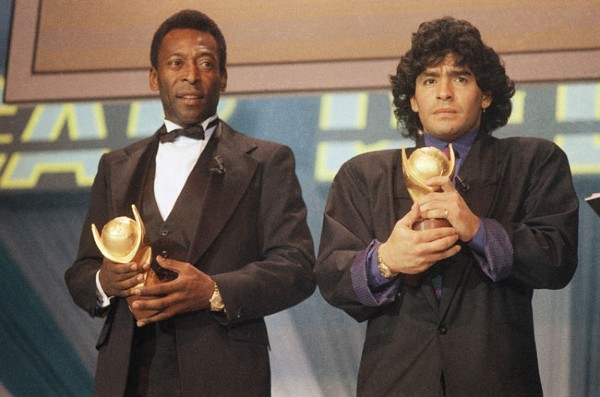 Pele pays rich tribute to Diego Maradona, says
