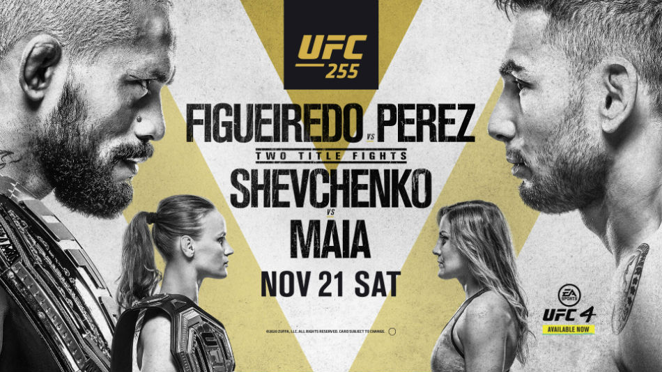UFC 255: All you need to know