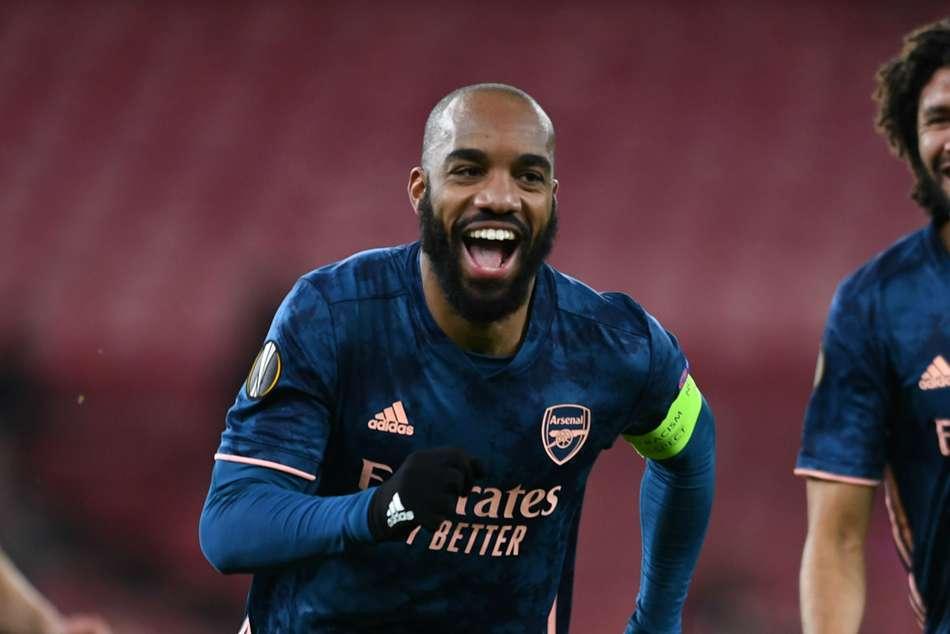 Arsenal 4-1 Rapid Vienna: Lacazette rediscovers goalscoring touch