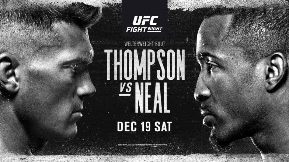 UFC Vegas 17: Thompson vs. Neal fight card, date, time in India ...