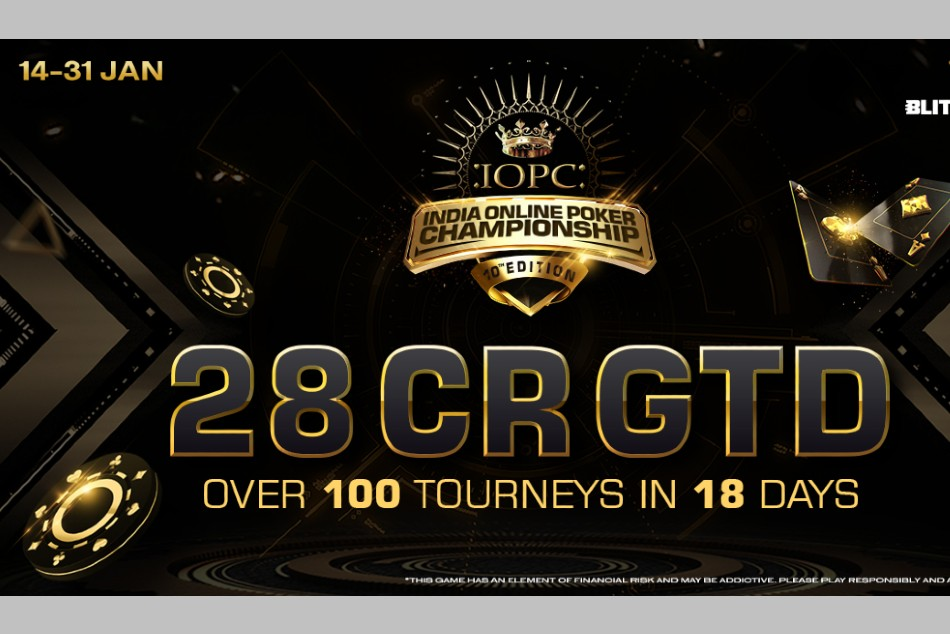 BLITZPOKER Presents India's Biggest Online Poker Event, The IOPC