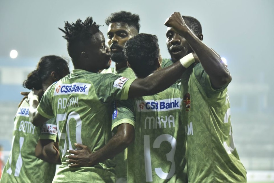 I-League: GKFC 4-1 Neroca FC: Gokulam Kerala FC steam past Neroca to move up the points table