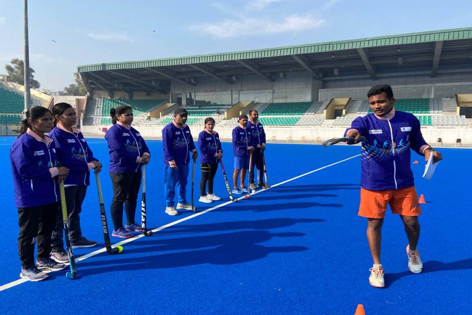Good Response For Hockey India Coaching Course