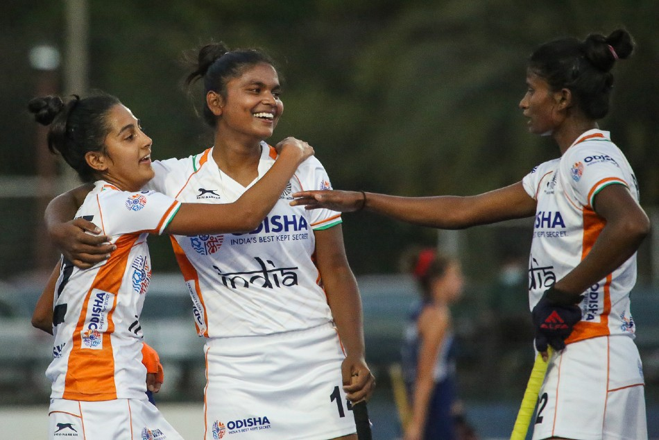 Dominant Indian Junior Women's Hockey Team beat Chile Senior Women's Team 2-0