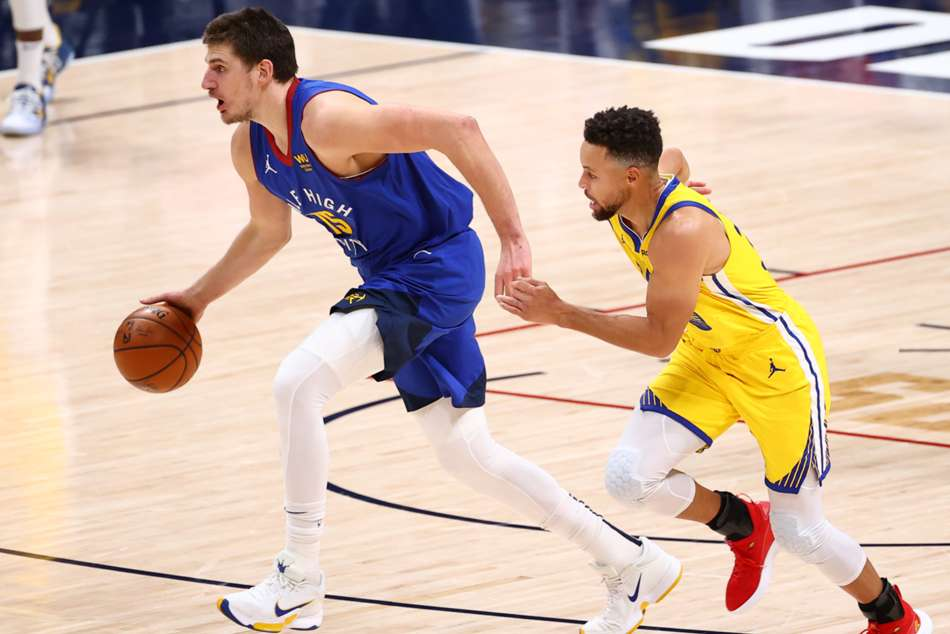Curry's Warriors fall as Jokic inspires Nuggets, Rockets win to begin post-Harden era