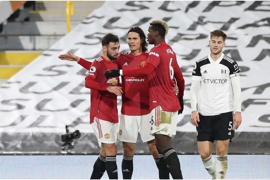 Fernandes, Cavani and Pogba driving Man Utd's mentality shift – Solskjaer