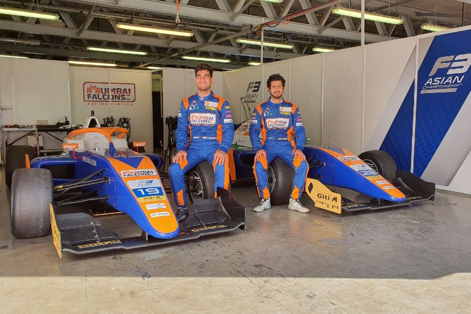 Mumbai Falcons Jehan Daruvala And Kush Maini Launch Formula 3 Asian Championship Campaign