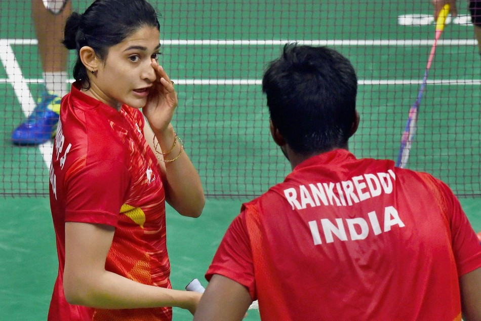 Thailand Open: Rankireddy-Ponappa upset fifth seed pair to enter mixed doubles semifinals