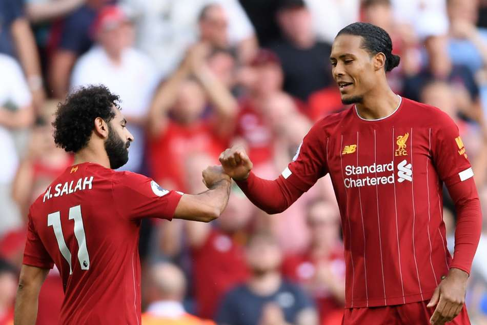 Salah and Van Dijk