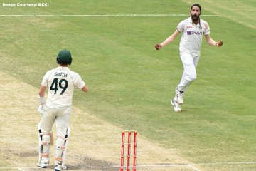 India vs Australia 4th Test: Mohammed Siraj's fifer keeps visitors in toes of the Aussies