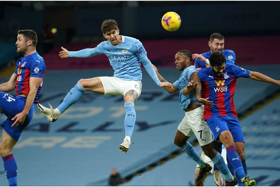 Manchester City 4-0 Crystal Palace: Stones at the double as Guardiola's men march into second