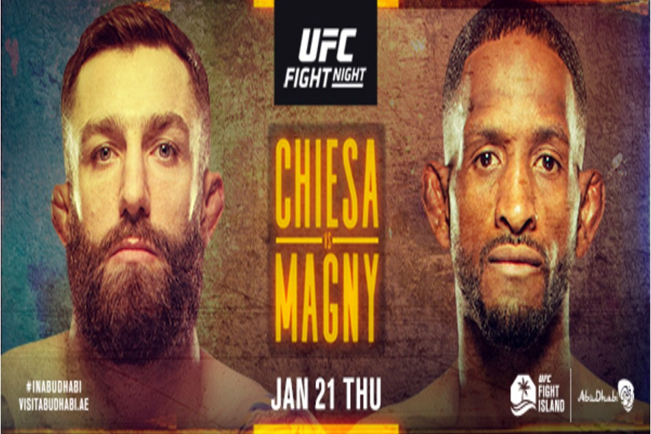 UFC Fight Island 8: Chiesa vs. Magny fight card, date, time in India and where to watch