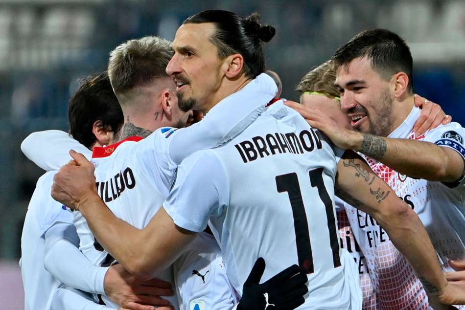 Cagliari 0-2 Milan: Ibrahimovic back with a brace for Pioli's table toppers
