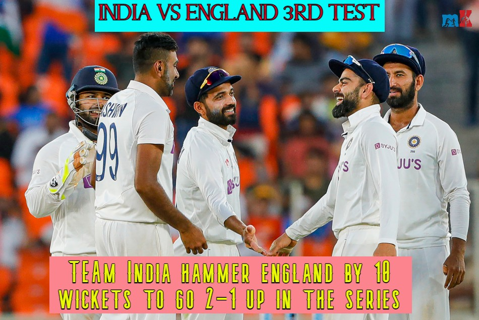 India Vs England Pink Ball Test: Key Stats, milestones created as India beat England by 10 wickets