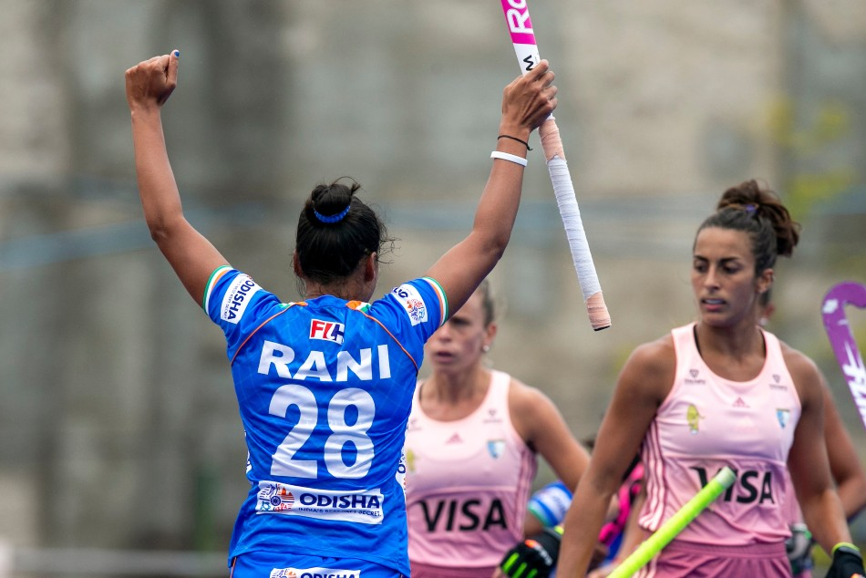 Skipper Rani Rampal Scores Lone Goal As Indian Women Hockey Team Hold World No 2 Argentina To Draw