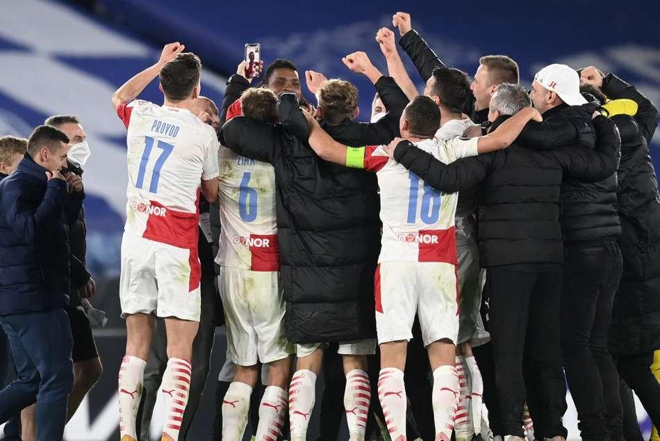 Leicester City 0-2 Slavia Prague (0-2 agg): Foxes crash out of Europa League