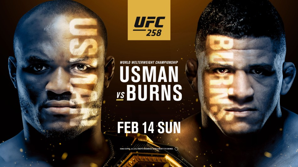 Watch UFC 258 : Usman Vs Burns 2/13/21
