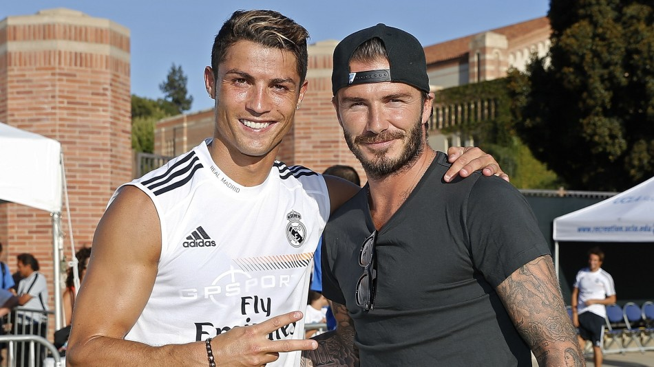 David Beckham is reportedly in talks with Cristiano Ronaldo about finishing his playing career with Inter Miami in the United States.