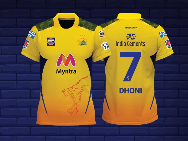IPL 2021: Chennai Super Kings redesign jersey first time in 14 years; MS Dhoni unveils jersey paying tribute to armed forces - myKhel