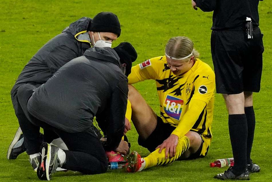 Erling Haaland Sub Protect Borussia Dortmund Star Champions League