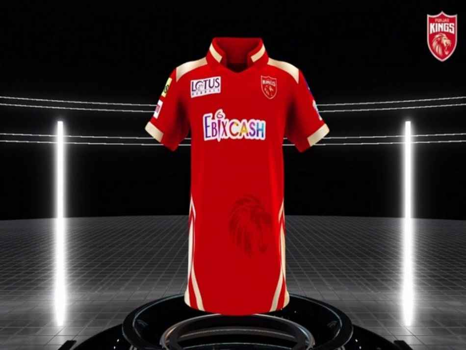 IPL 2021: Punjab Kings gear up for IPL 14 with a striking new jersey