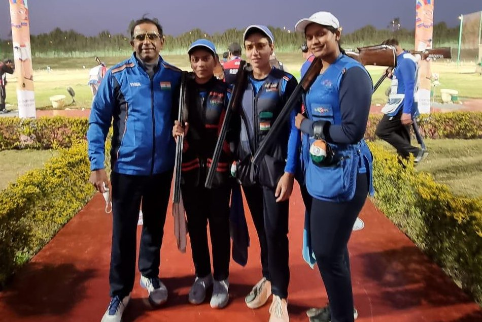 Women's Trap Team wins silver as India finish year's first Shotgun World Cup with two medals