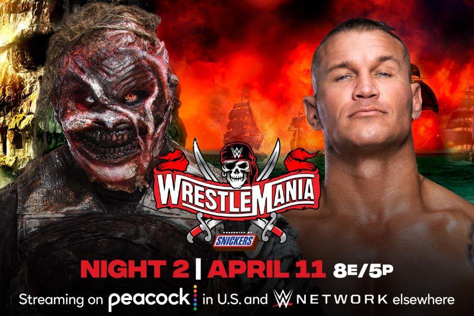 Spoiler On The Fiend Bray Wyatt Vs Randy Orton At Wwe Wrestlemania 37