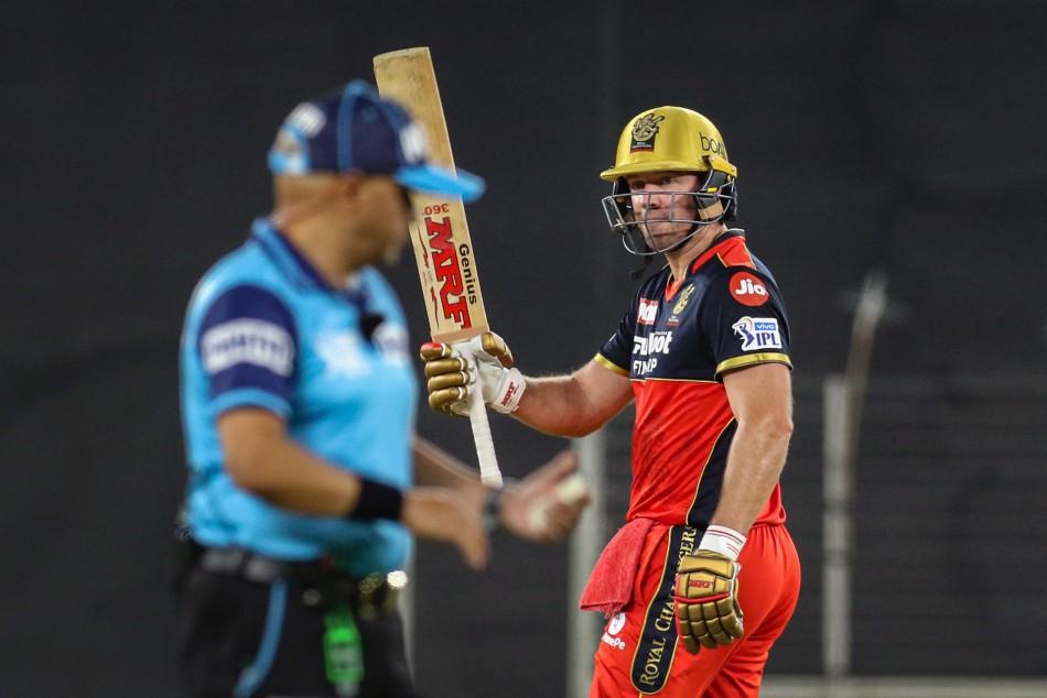 IPL 2021: After AB de Villiers' achieves a huge IPL milestone; sandstorm delays Delhi Capitals chase - myKhel