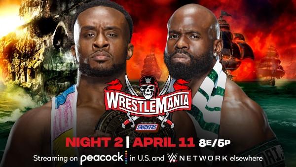 WWE Intercontinental Title Nigerian Drum Match: Apollo Crews vs. Big E (c)