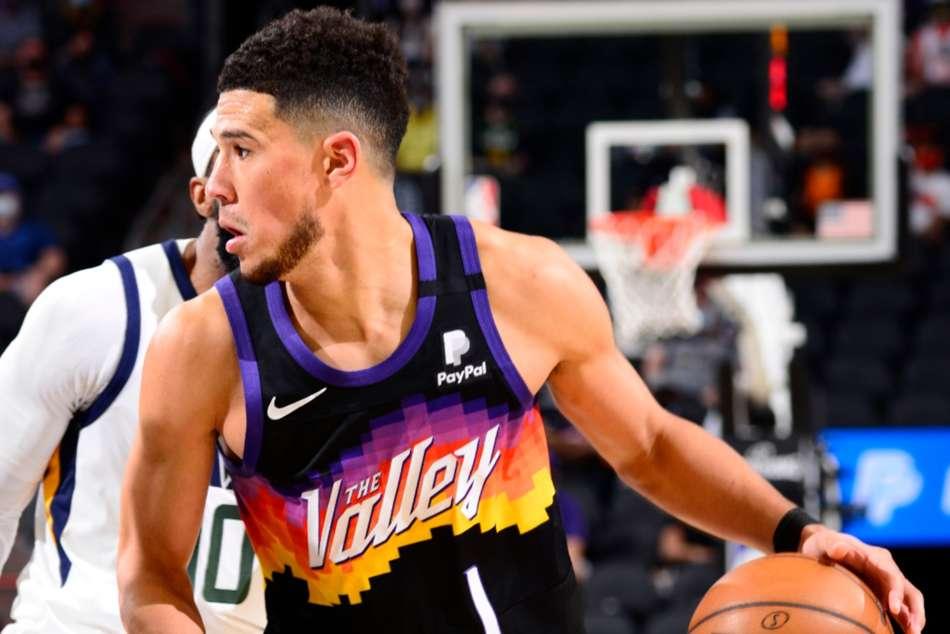 Devin Booker Phoenix Suns Nba Jazz Durant Nets