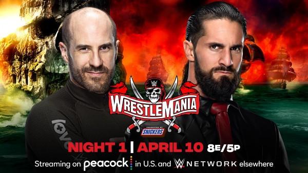 Cesaro vs. Seth Rollins
