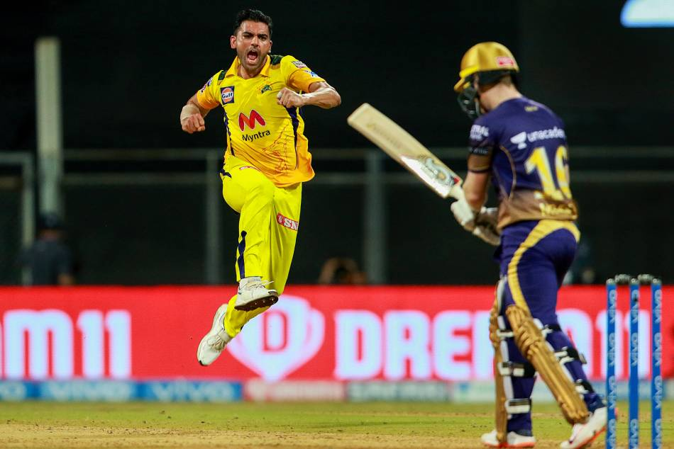IPL 2021: KKR vs CSK;  It was a good wicket to bowl on: Deepak Chahar