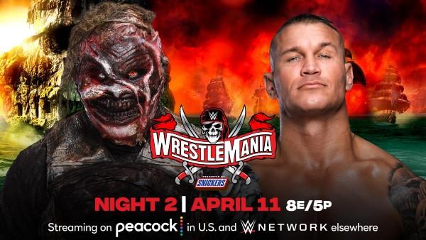 "Randy Orton vs. ""The Fiend"" Bray Wyatt with Alexa Bliss"