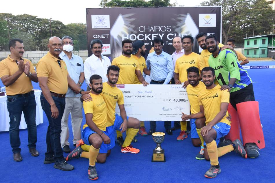 Chairos Hockey Cup 2021 Canara Bank Reigns Supreme