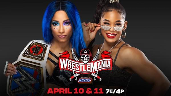 SmackDown Women's Title Match: Bianca Belair vs. Sasha Banks (c)