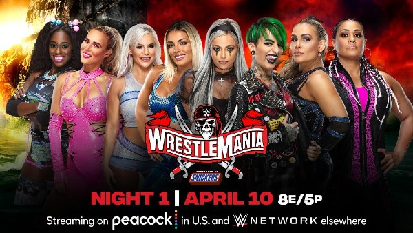 Number one contender's Tag Team Turmoil: Naomi & Lana vs. Mandy Rose & Dana Brooke vs. The Riott Squad vs. Natalya & Tamina