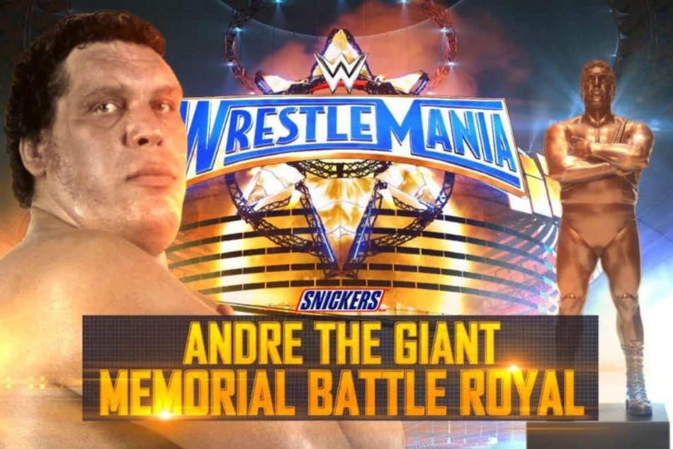 Wwe Confirms Andre The Giant Memorial Battle Royal For Wrestlemania 37 Weekend