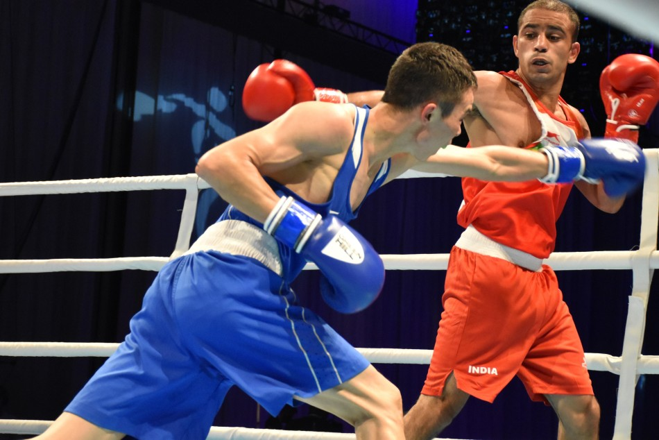 Asian Boxing Championships: Panghal, Thapa cruise into final; Vikas-Varinder lose in the semis, secure bronze