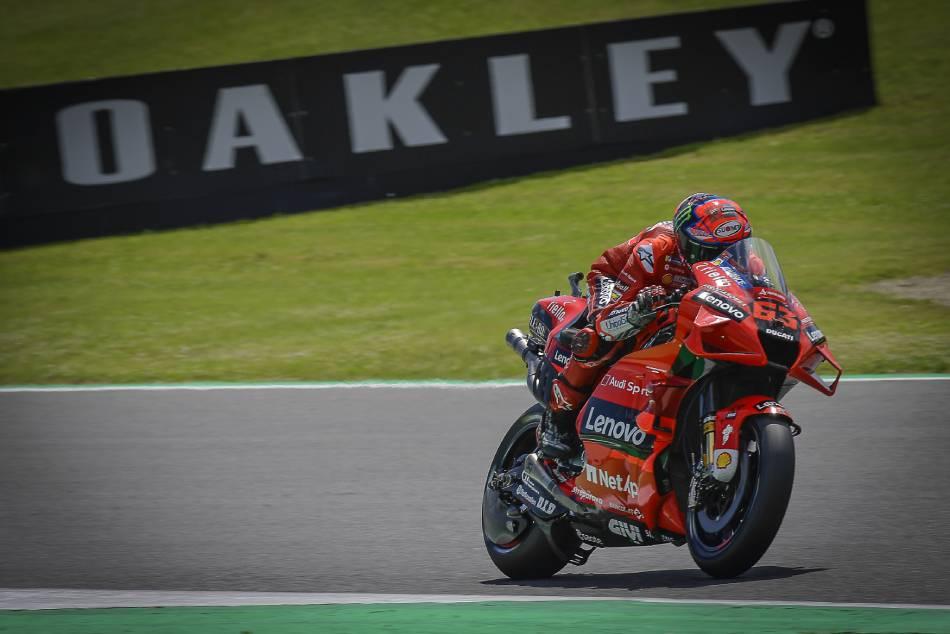Italian GP: Bagnaia steals the show as action begins at Mugello